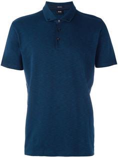 рубашка-поло на пуговицах Boss Hugo Boss