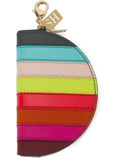 полосатый кошелек для монет Sophie Hulme