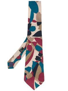 floral patterned tie Missoni Vintage