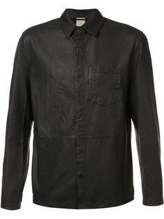 кожаная рубашка 'Alan' Baldwin