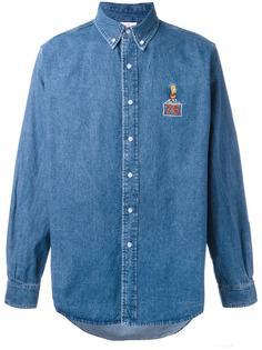 джинсовая рубашка с нашивкой 'Bart' Joyrich