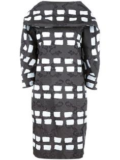 платье шифт с геометрическим узором Vivienne Westwood Anglomania