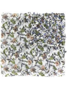 декорированный шарф с цветочным принтом Essentiel Antwerp