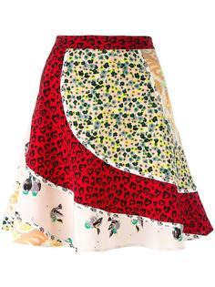 panelled A-line skirt  Coach