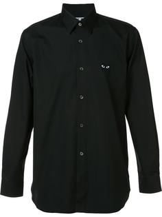 рубашка с принтом сердец Comme Des Garçons