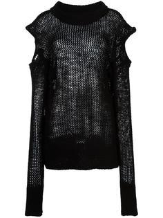 вязаная блузка с длинными рукавами Vivienne Westwood Anglomania