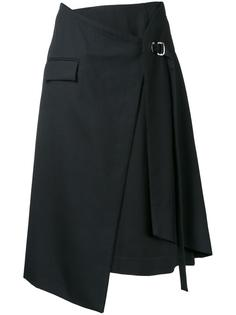 многослойная юбка с запахом Taro Horiuchi
