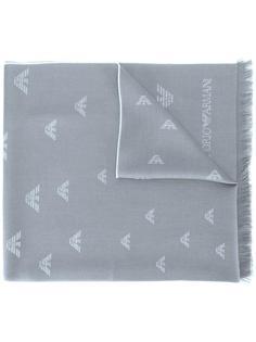 платок с логотипом Emporio Armani