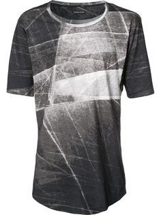 футболка со стилизованным принтом Alexandre Plokhov