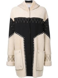 пальто из овчины Prabal Gurung