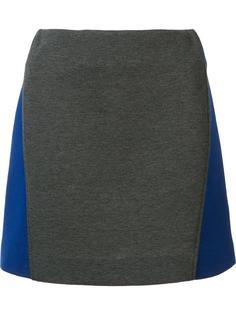 юбка дизайна колор-блок Marni