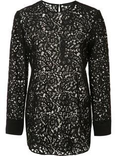 back slit lace blouse Jenni Kayne