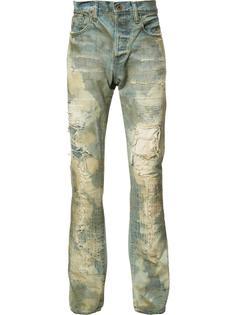 рваные джинсы кроя слим Prps