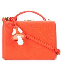 маленькая сумка на плечо 'Grace Box with Mushroom Charm'  Mark Cross