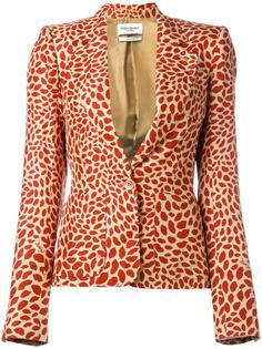 lips print jacket Yves Saint Laurent Vintage