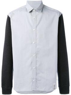 двухцветная рубашка Kenzo