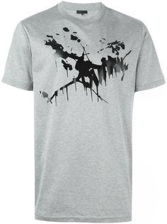 футболка с абстрактным принтом Lanvin
