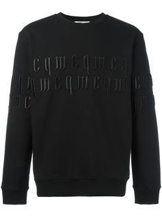 embroidered logo sweatshirt McQ Alexander McQueen