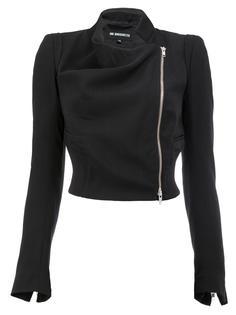 укороченная приталенная куртка Ann Demeulemeester