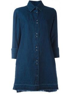джинсовое платье-рубашка J Brand