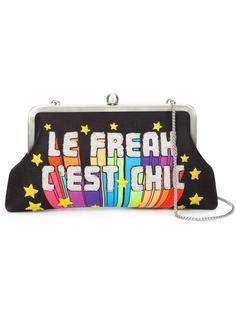 декорированный клатч 'Le Freak C'est Chic'  Sarah's Bag