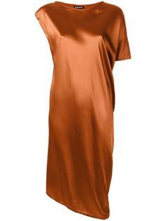 платье с асимметричными рукавами Ann Demeulemeester