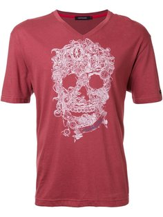 футболка с принтом черепа  Loveless
