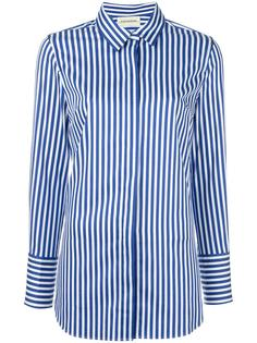 striped slim-fit shirt By Malene Birger
