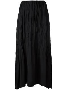 'Crushed' maxi skirt Issey Miyake Vintage