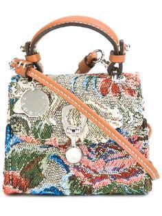 сумка через плечо с цветочным принтом Ermanno Scervino