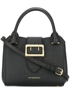gold-tone hardware tote Burberry Runway
