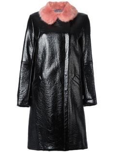 пальто 'Hokus Hok' с кожаным эффектом Shrimps