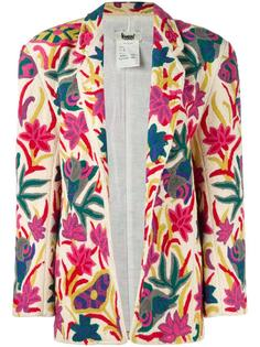 embroidered floral jacket Kansai Yamamoto Vintage