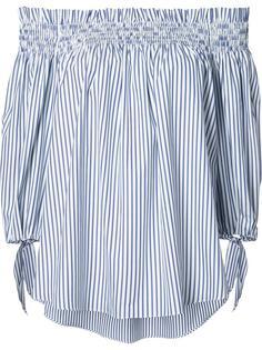 striped off-shoulder blouse Caroline Constas