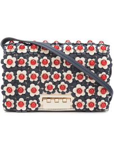 сумка через плечо с цветочными деталями Zac Zac Posen