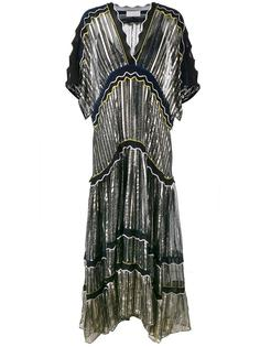Metallic Silk-Blend Gown Peter Pilotto
