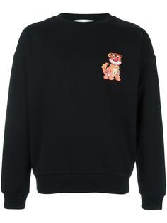 tiger print sweatshirt Moschino