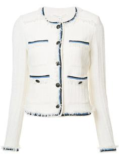 contrasting detail jacket Veronica Beard