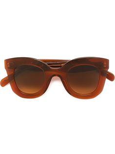 """солнцезащитные очки с оправой """"кошачий глаз"""" Céline Eyewear"""