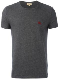 футболка с нашивкой-логотипом Burberry
