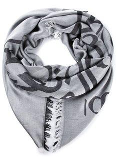 жаккардовый шарф с узором Thamanyah
