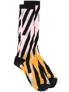 'Pink Sundown' socks Henrik Vibskov