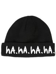 шапка с принтом 'Ha.' Haculla