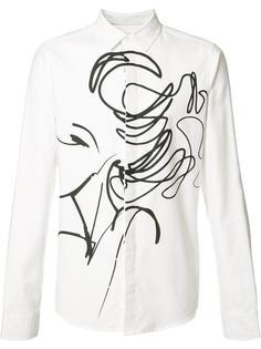 рубашка с абстрактным принтом Private Stock