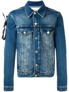 джинсовая куртка с ремешком на рукаве Martine Rose