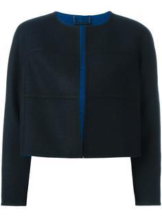 stylized seam cropped jacket Diane Von Furstenberg