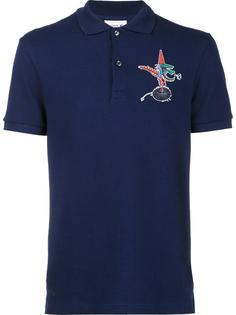 футболка-поло с принтом логотипа Lacoste