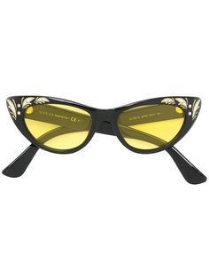 солнцезащитные очки в оправе 'кошачий глаз' Gucci Eyewear