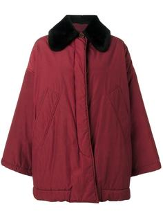 contrast collar coat Romeo Gigli Vintage