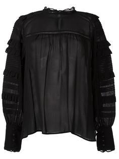полупрозрачная блузка 'Qimper'  Isabel Marant